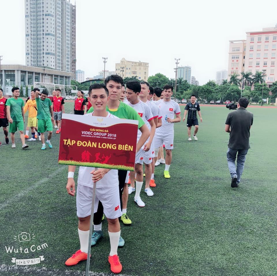 Long Biên về nhì giải bóng đá Cup VIDEC mở rộng